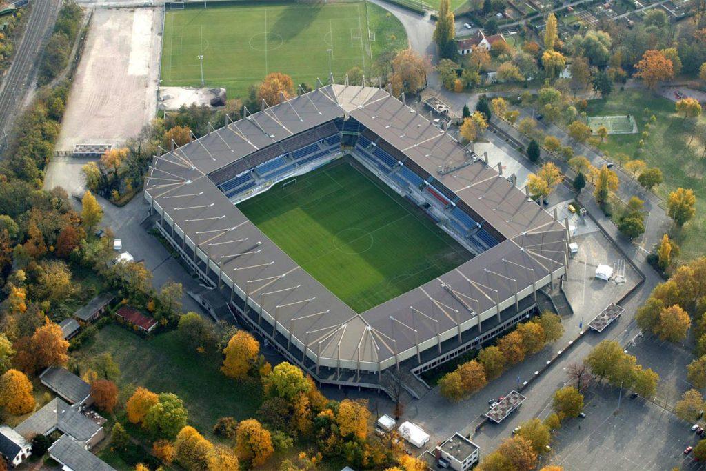 strasburgo stadio vista aerea
