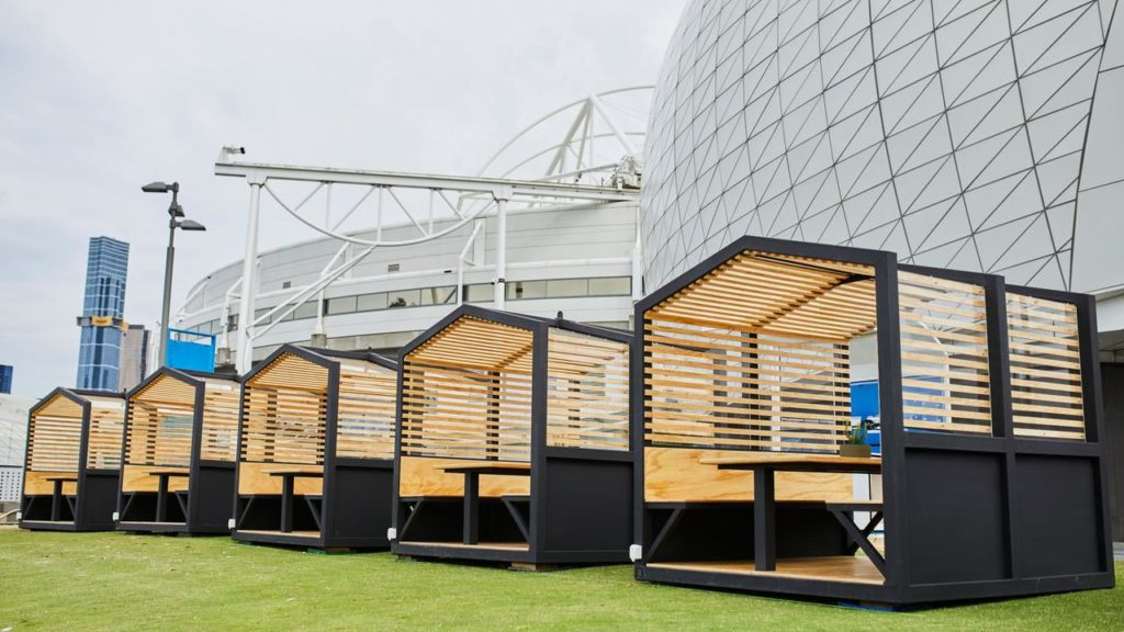 australian open 2021 pubblico pod