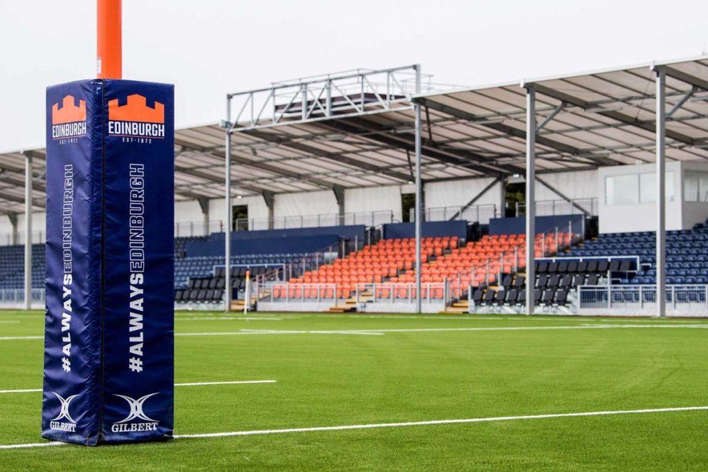 edimburgo nuovo stadio rugby scorcio
