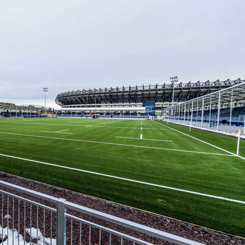 edimburgo nuovo stadio rugby panoramica interna murrayfield