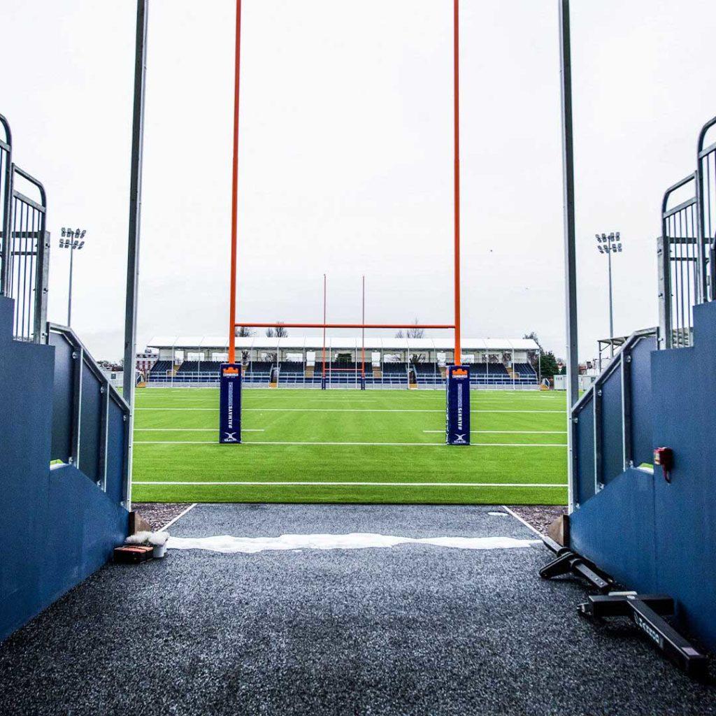 edimburgo nuovo stadio rugby scorcio interno