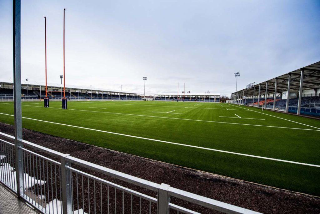 edimburgo nuovo stadio rugby panoramica interna