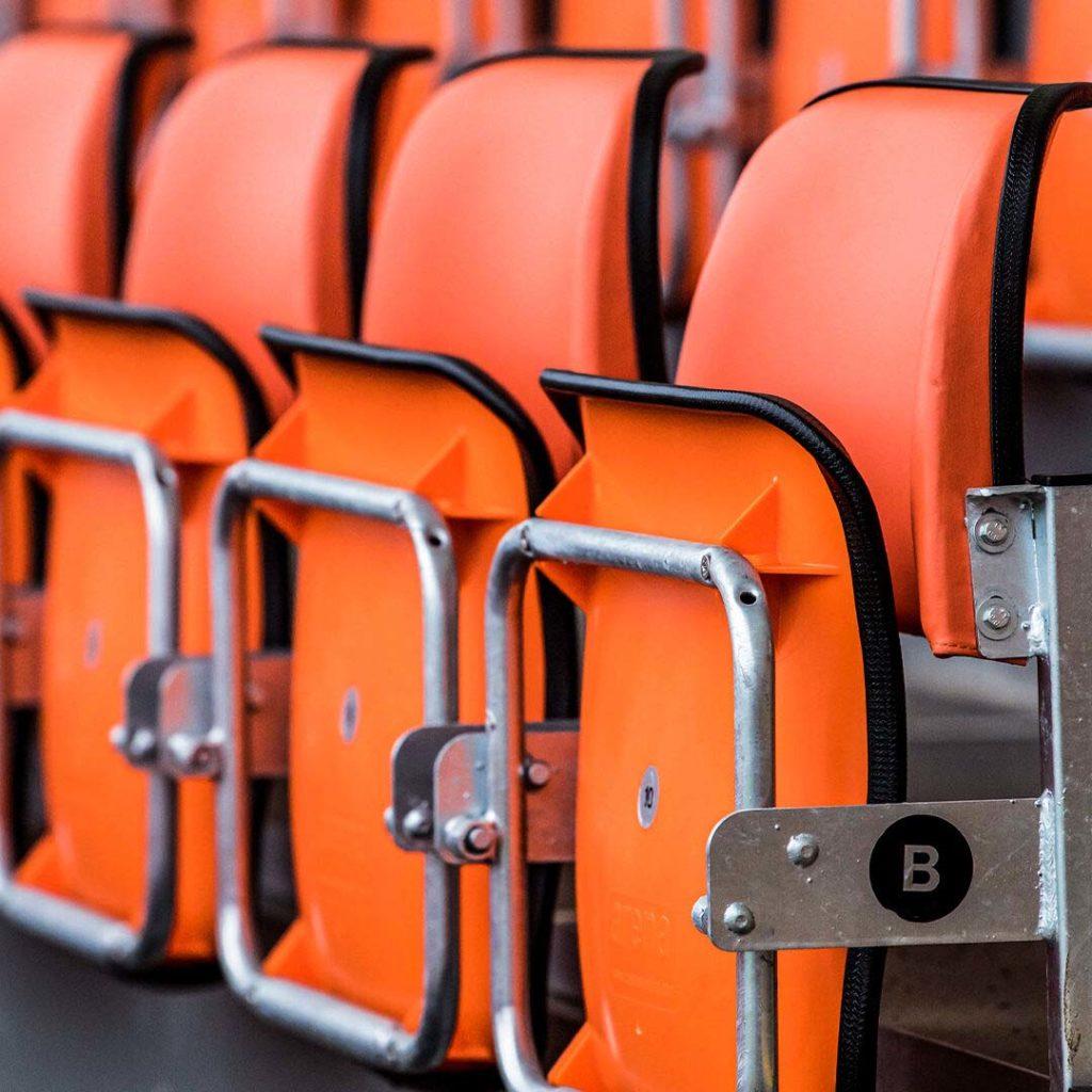 edimburgo nuovo stadio rugby dettaglio seggiolini