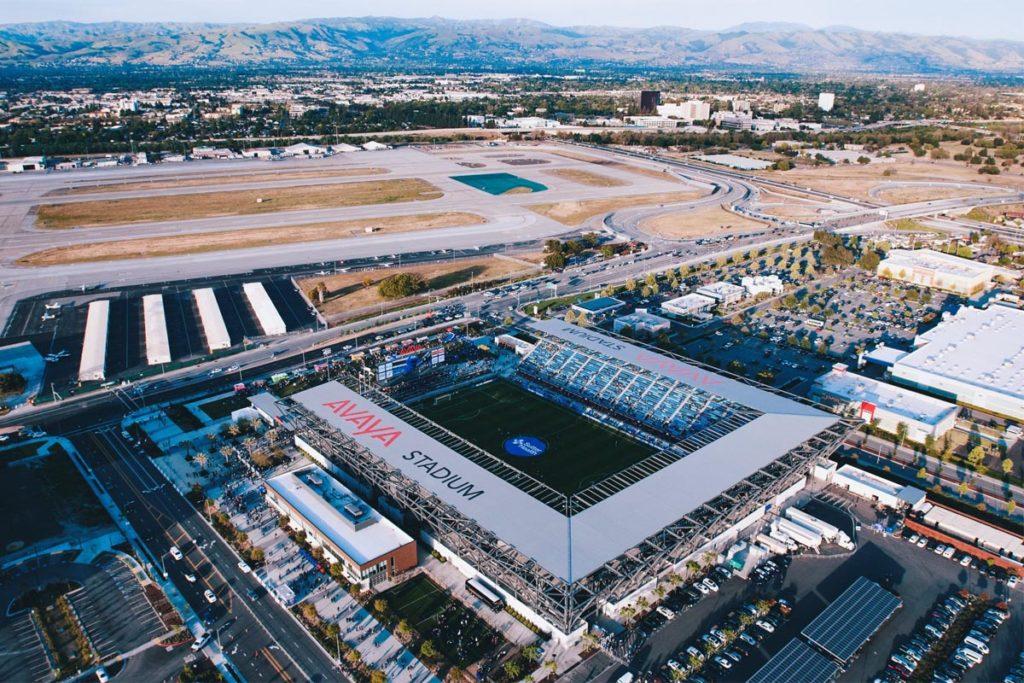 avaya stadium vista aerea