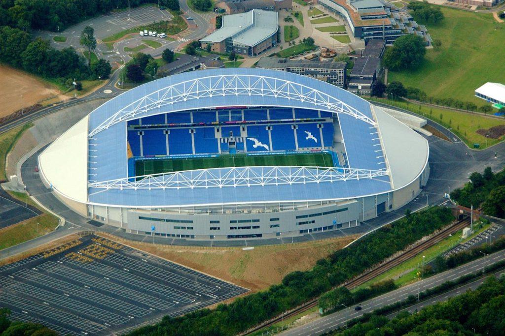 brighton amex stadium vista aerea