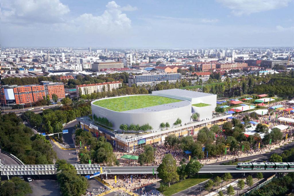 olimpiadi parigi 2024 chapelle arena vista esterna