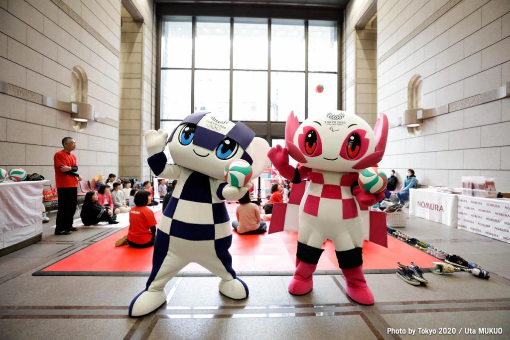 tokyo 2020 mascotte