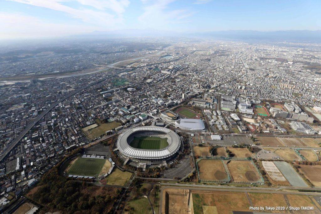 tokyo 2020 vista aerea
