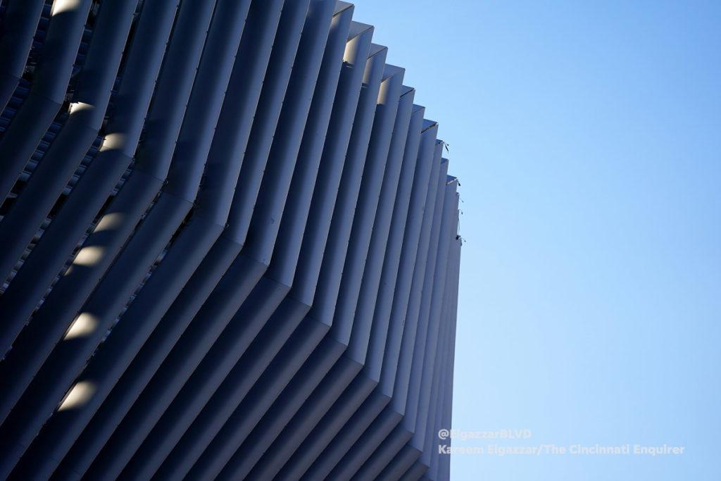 cincinnati stadio west end stadium struttura involucro esterno
