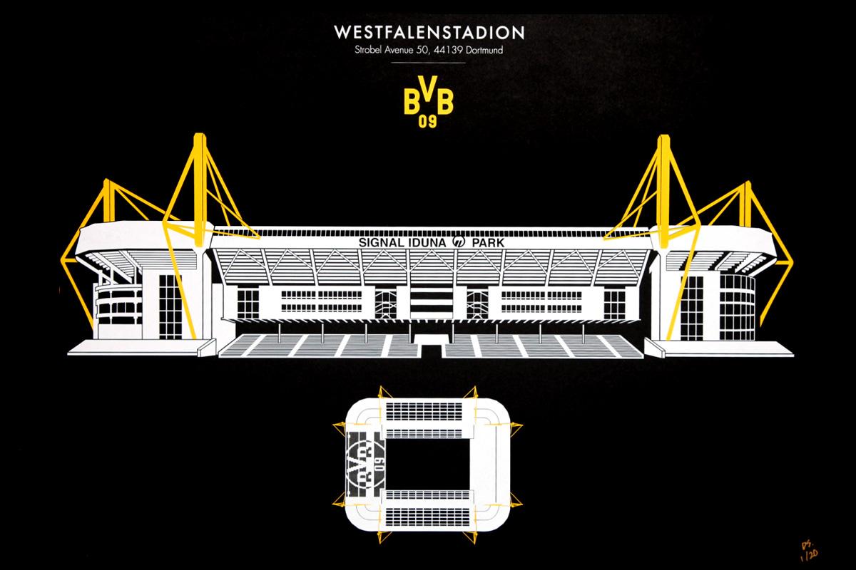 westfalenstadion stadio borussia dortmund