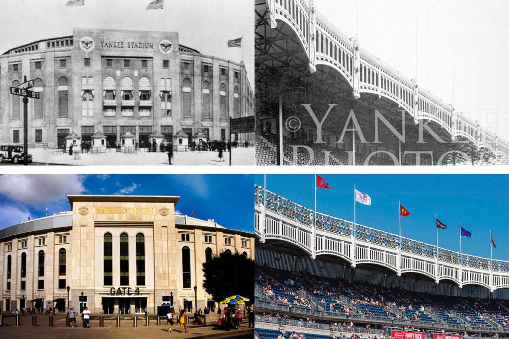 yankee stadium confronto vecchio nuovo stadio