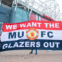 old trafford proteste tifosi manchester united