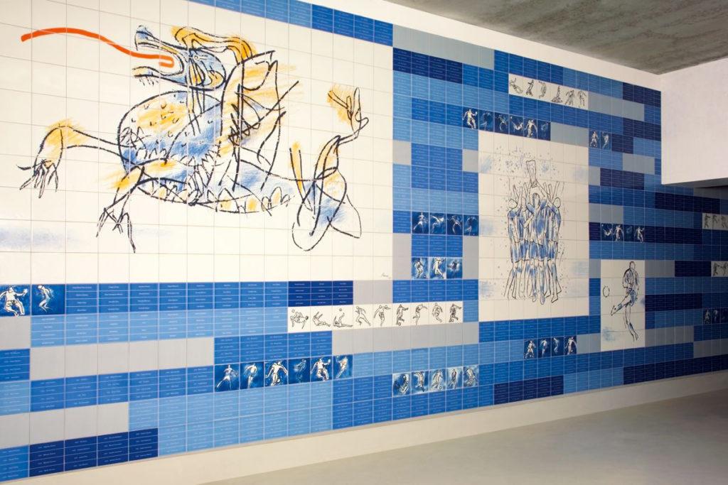 azulejos stadio do dragao porto