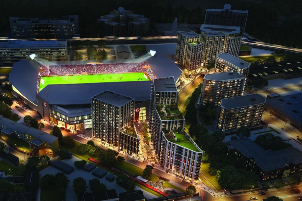 brentford nuovo stadio masterplan progetto