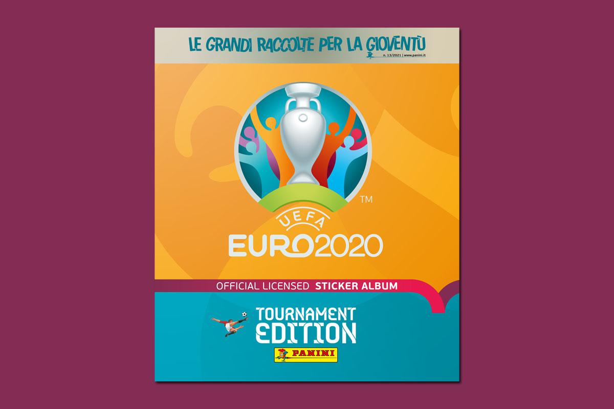 figurine panini euro 2020 copertina album