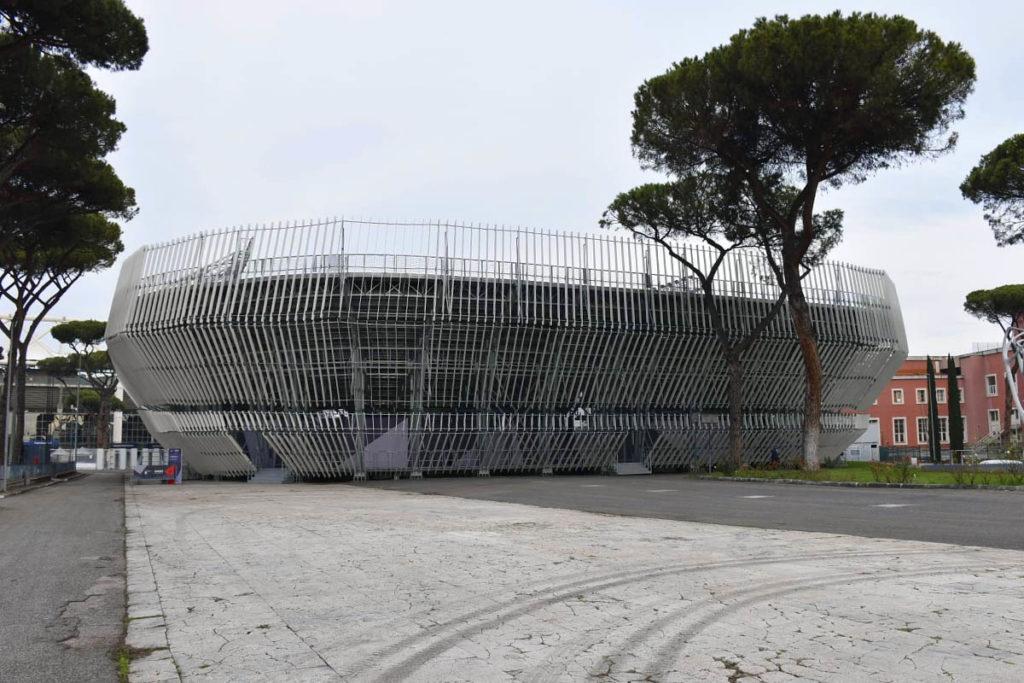 grand stand arena foro italico roma tennis vista esterna