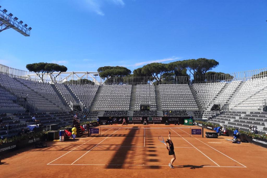 grand stand arena foro italico roma tennis