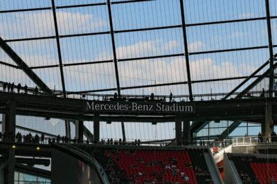 mercedes-benz stadium atlanta ecosostenibilità leed