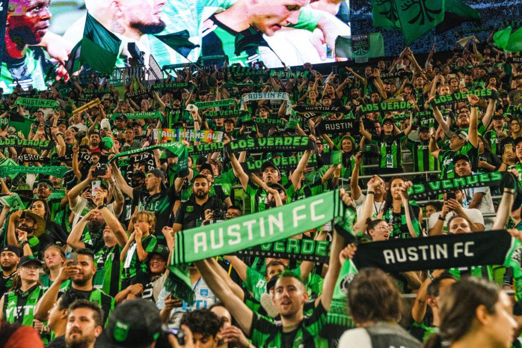 austin nuovo stadio inaugurazione tifosi