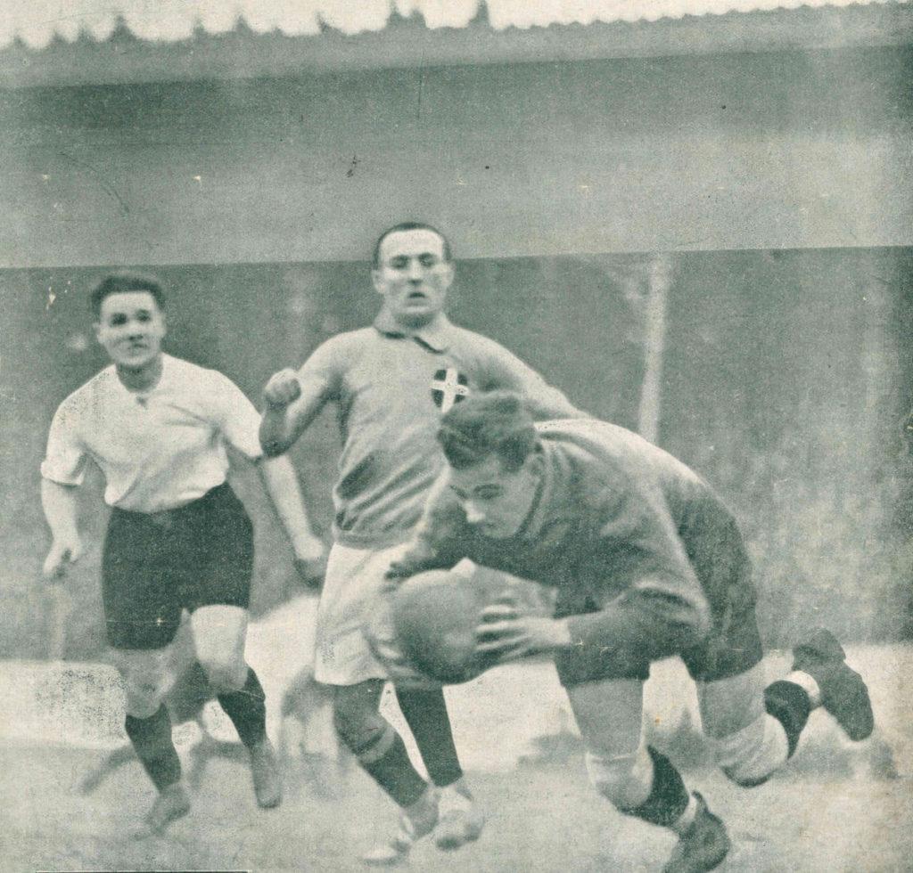 italia-austria 1922 museo del calcio