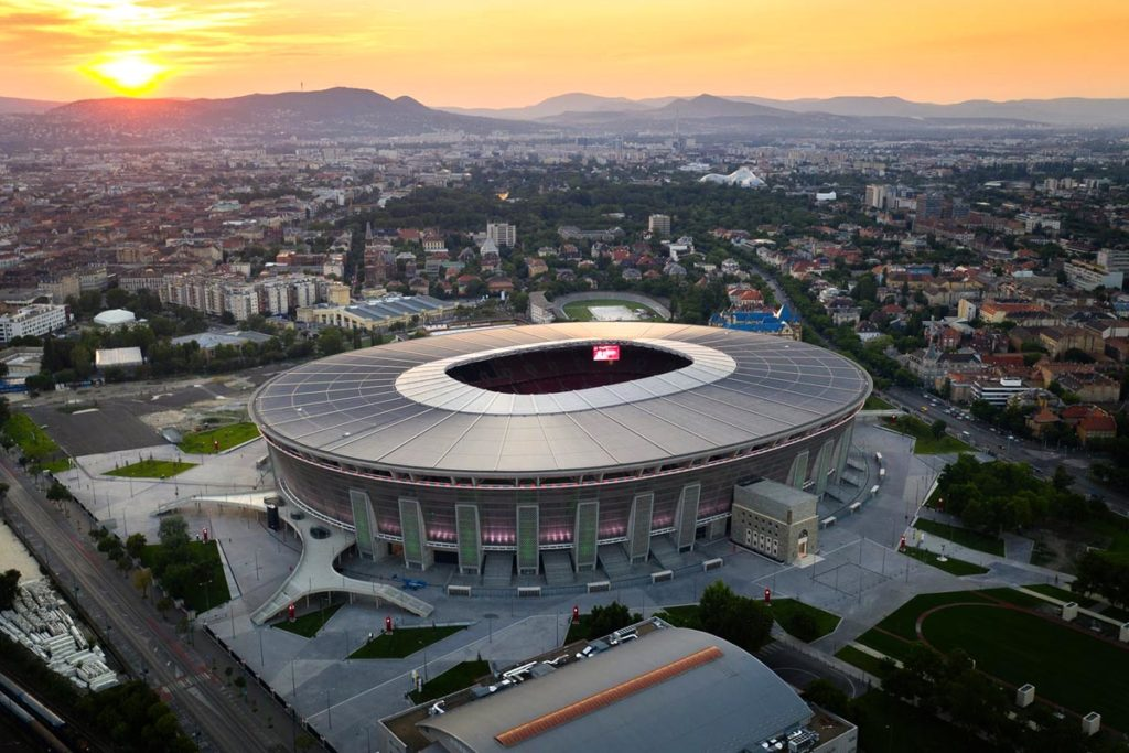 puskás aréna budapest ungheria