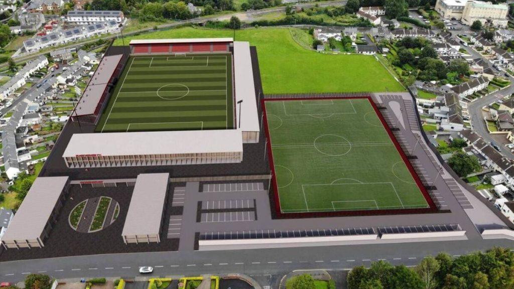 sligo restyling showgrounds stadio masterplan