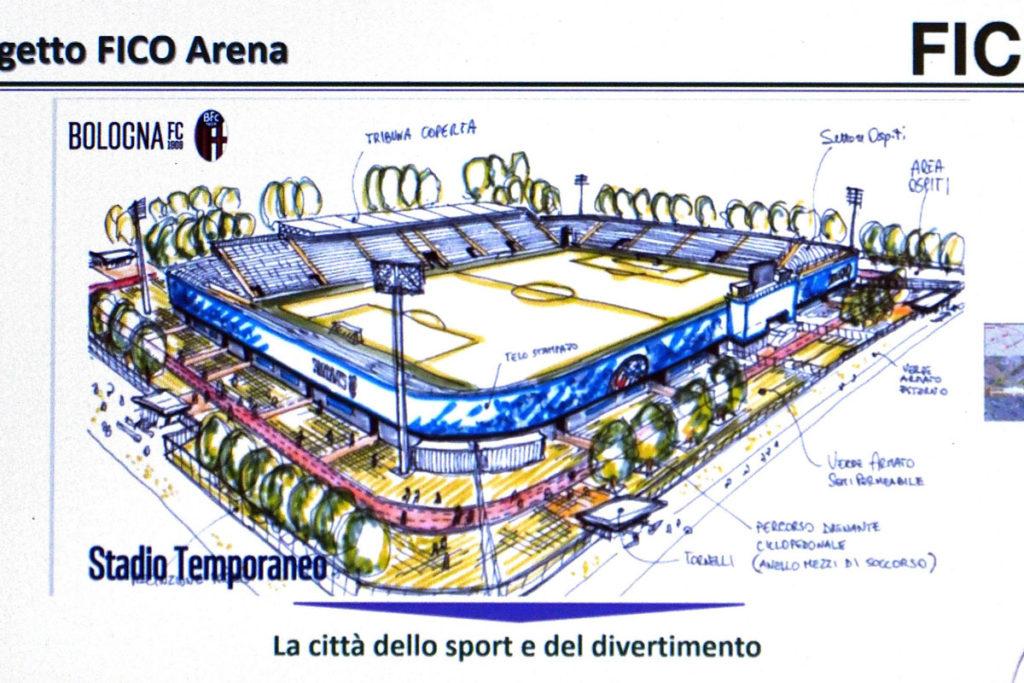 fico arena bozza progetto bologna