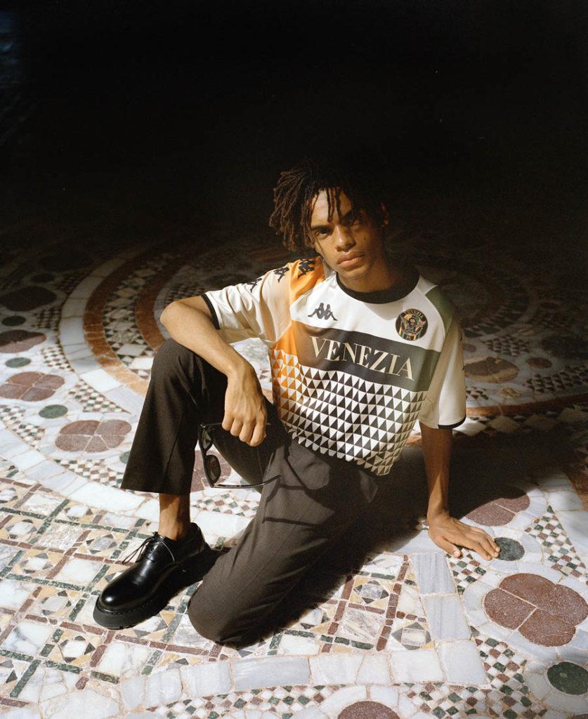 venezia nuova maglia trasferta mosaici