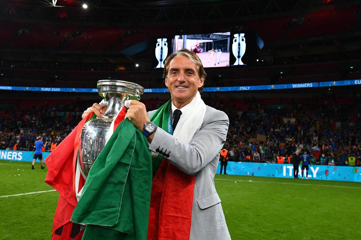 italia campione europa euro 2020 mancini