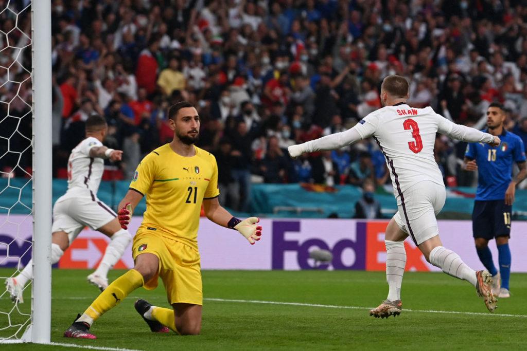 italia campione europa euro 2020 shaw