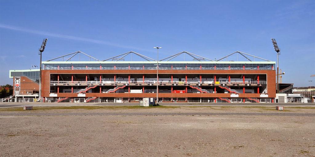 st pauli millerntor stadion tribuna vista esterna