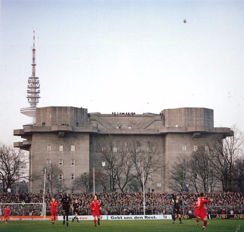 st pauli millerntor stadion tribuna flakturm