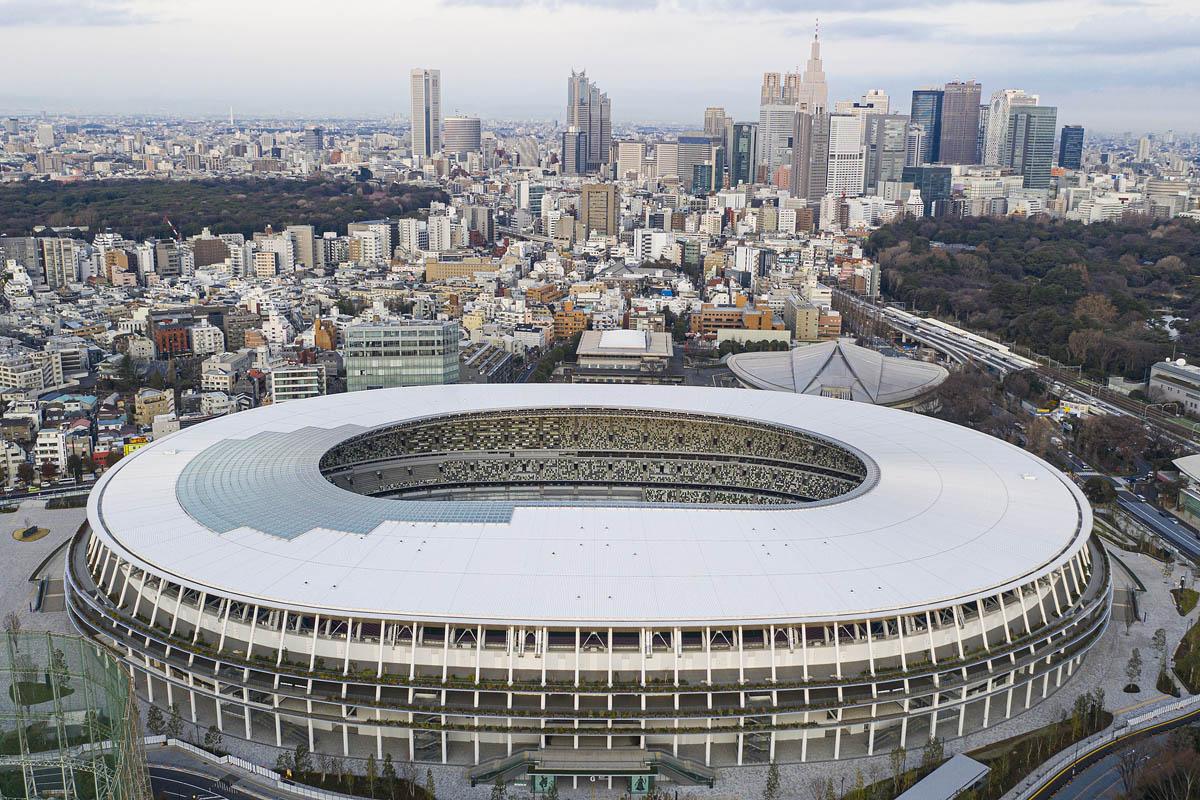 tokyo 2020 guida stadi olimpiadi vista aerea