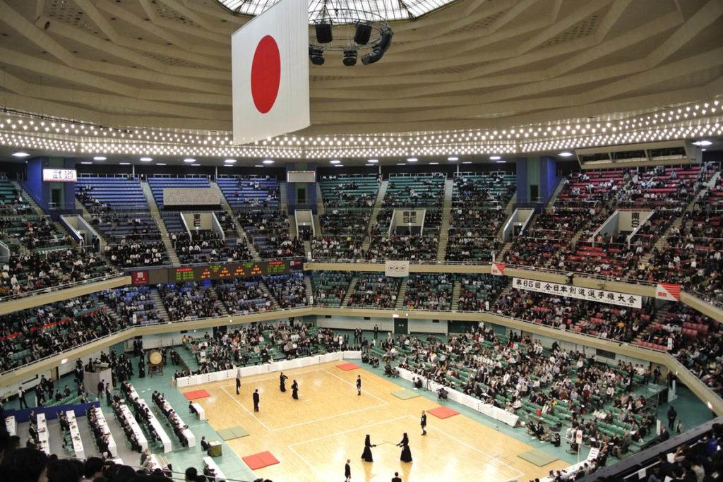 tokyo 2020 nippon budokan judo karate interno