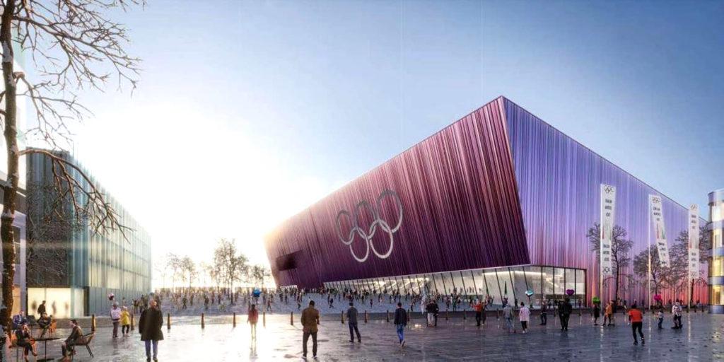 arena milano santa giulia 2026 render vista esterna