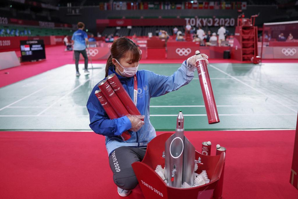 badminton tokyo volontari