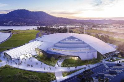 tasmania nuova arena indoor riqualificazione