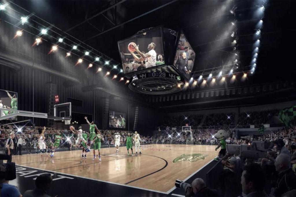 tasmania arena indoor mystate bank interno