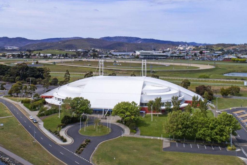tasmania arena indoor vista esterna