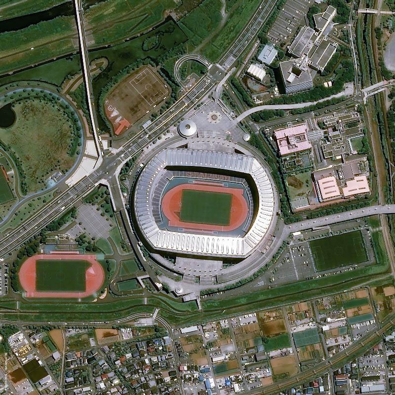 yokohama international stadium vista aerea