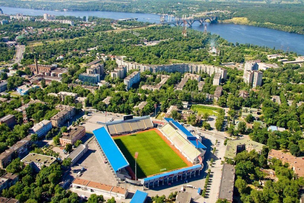 zorya luhansk stadio vista aerea