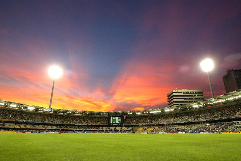brisbane cricket ground panoramica interna