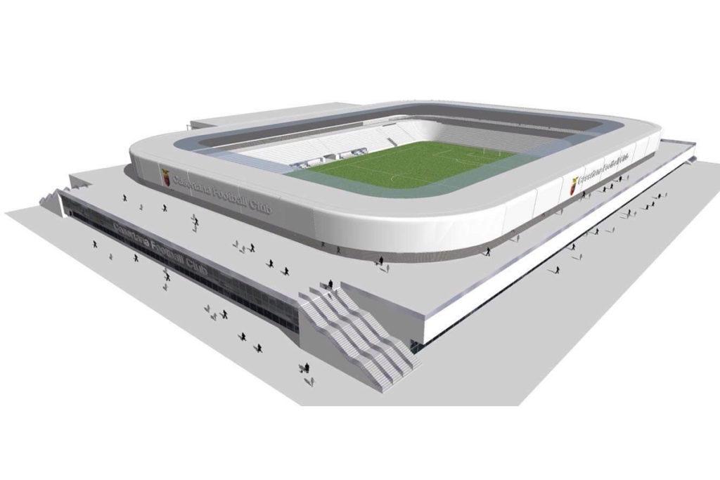 casertana progetto nuovo stadio