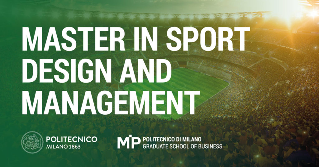master progettazione e gestione dello sport