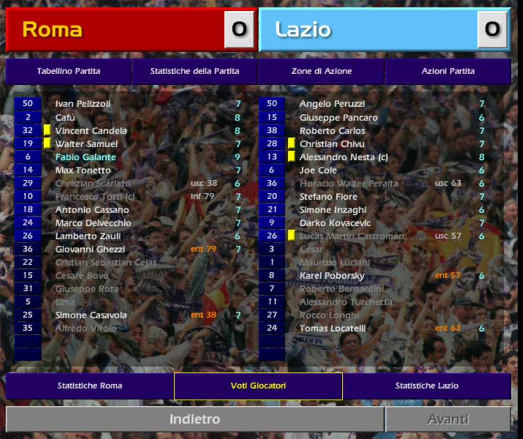 championship manager 01 02 roma lazio