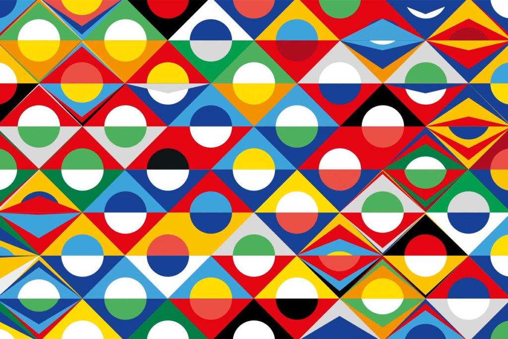 nations league logo pattern